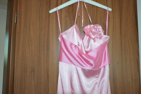 Společenské šaty růžové, 36