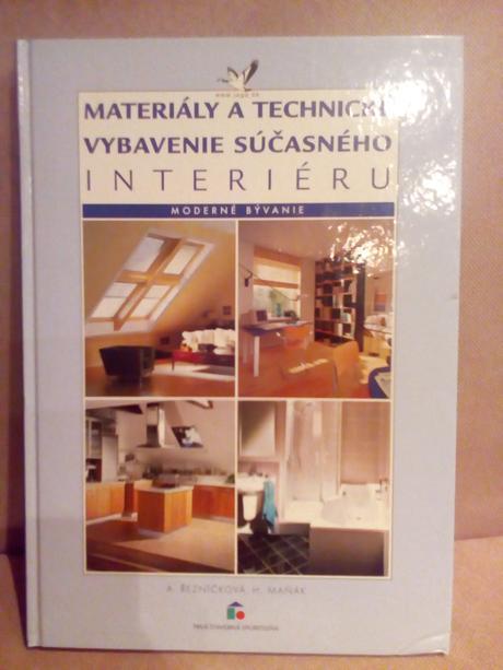 Kniha o vybavení interiéru,