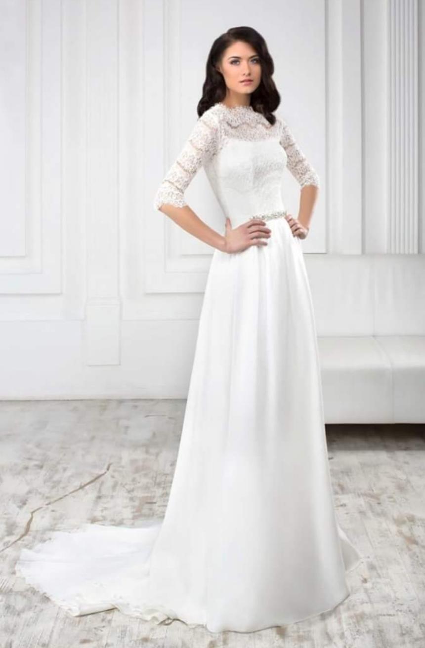 Svadobné šaty naama vhodné aj pre tehotné 65db45a4cb6
