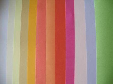Papierové dekorácie - kvietky,