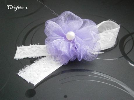 Pierka pre hosti lilia + čipka,
