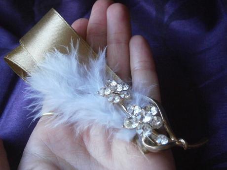 Svadobné pierko pre ženícha LUXURY,