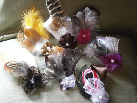 Vintage perie (lesklá čierna s bielou),