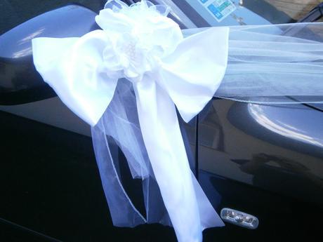 Výzdoba svadobného auta ,