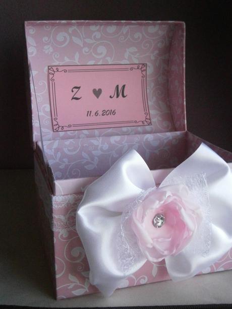 Wedding box na blahoželania VYPREDANE,