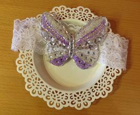 originální podvazek pro nevěstu, L