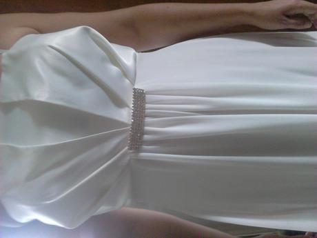 Svadobné,spoločenské šaty vhodné aj pre tehotné, M