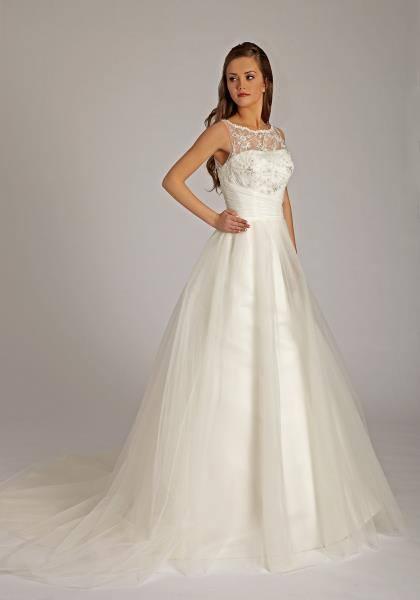 nádherne svadobné šaty - značkové, 42