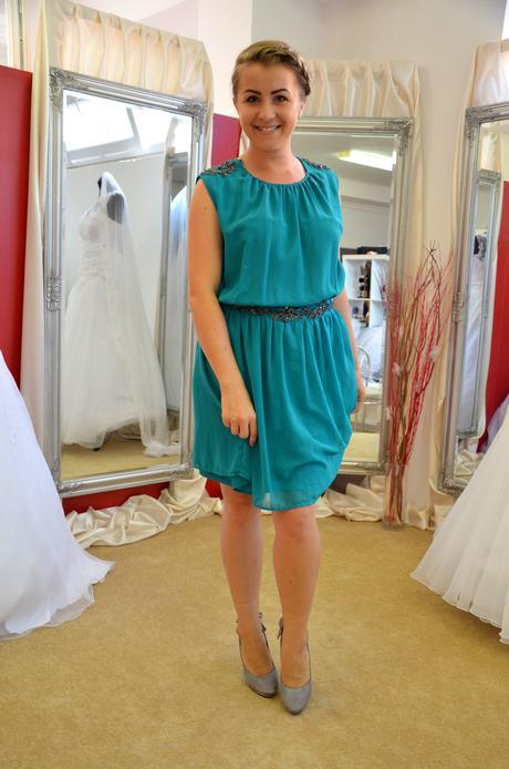 Zelené šaty , L