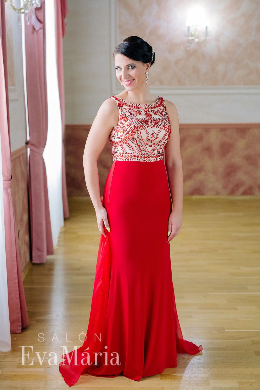 c2bc8dccd114 Červené luxusné večerné šaty - predaj   prenájom