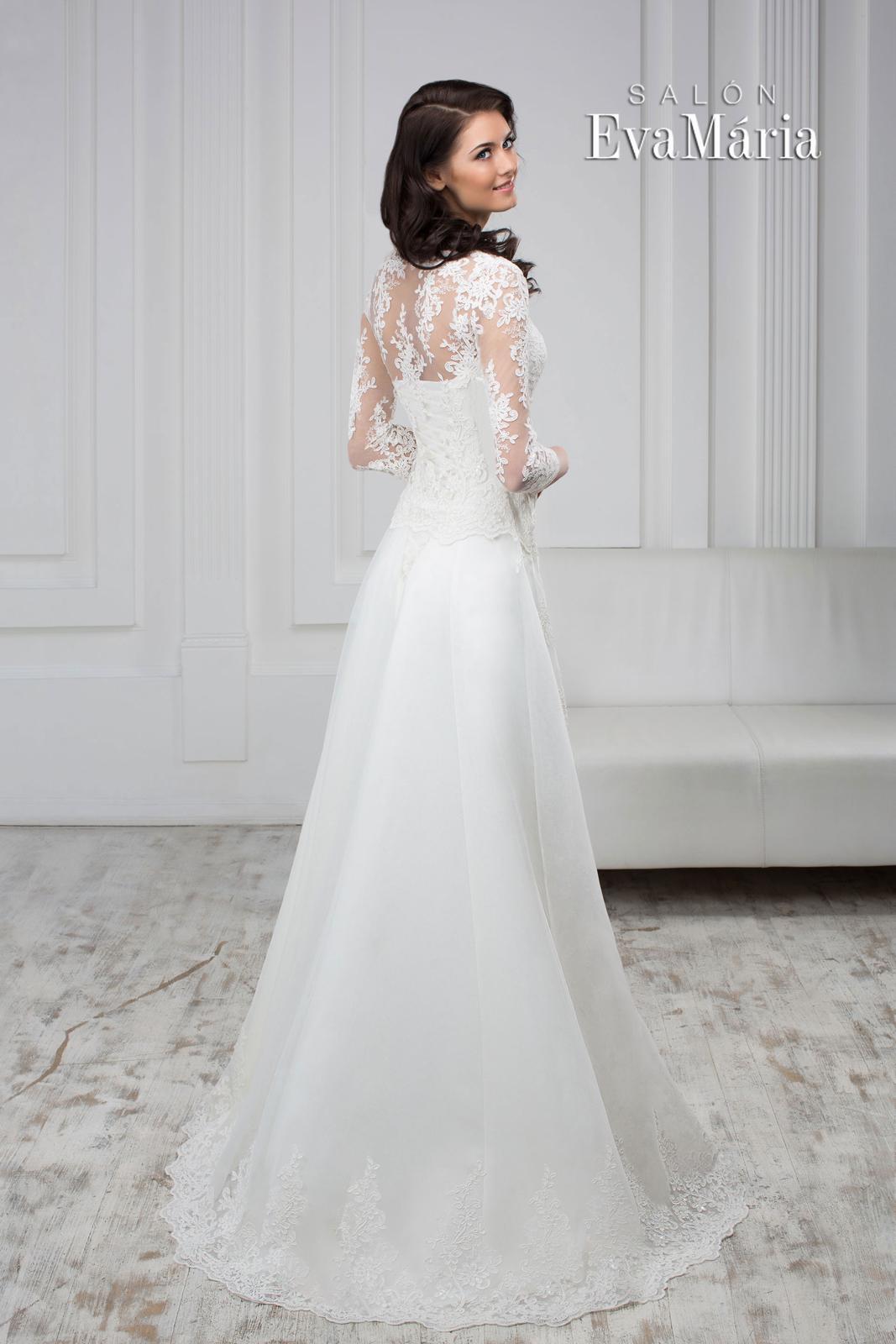 Čipkované svadobné šaty - real foto - na mieru 0daf8411940