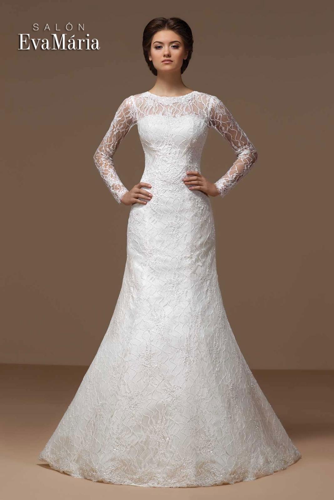 Svadobné šaty s dlhým rukávom - na mieru 45fa5b0b565