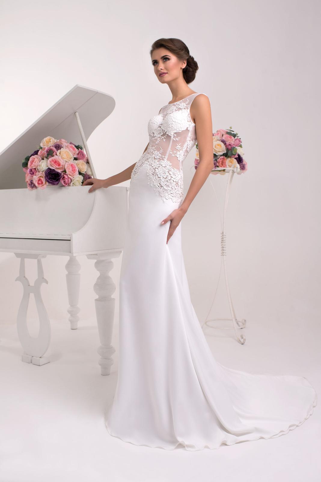 Svadobné šaty s holým chrbátom - na mieru 1add0d13913