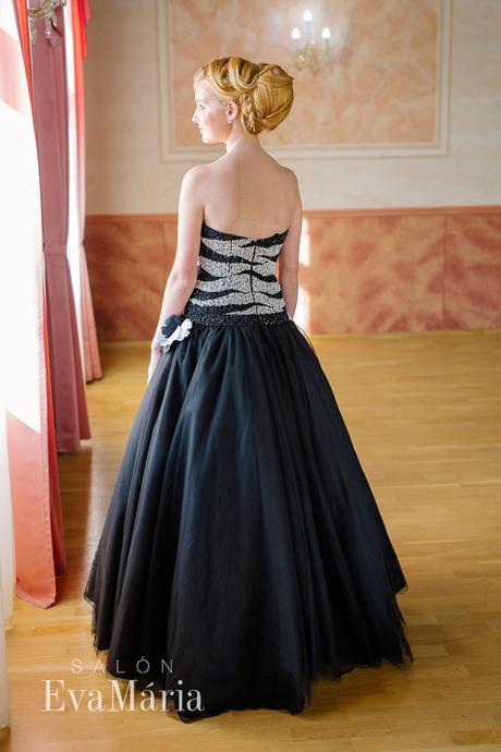 Čierne luxusné šaty - predaj / prenájom, 32