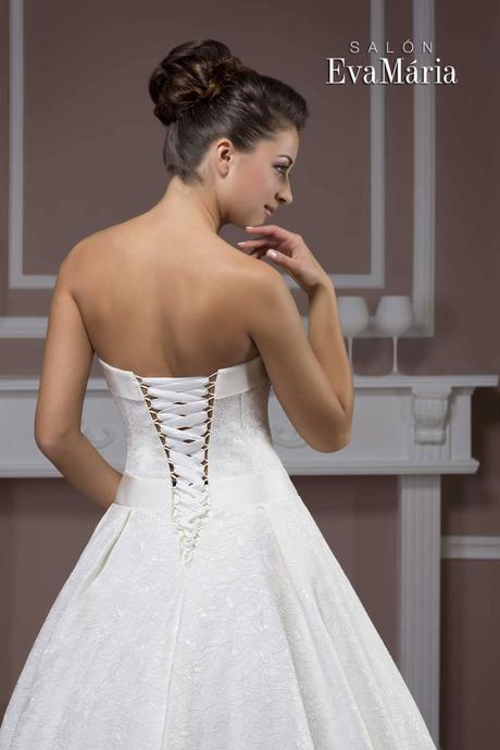 Čipkované svadobné šaty -real foto, rôzne veľkosti, 36