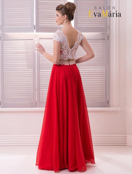 Extravagantné spoločenské šaty s vyšívaným živôtik, 36