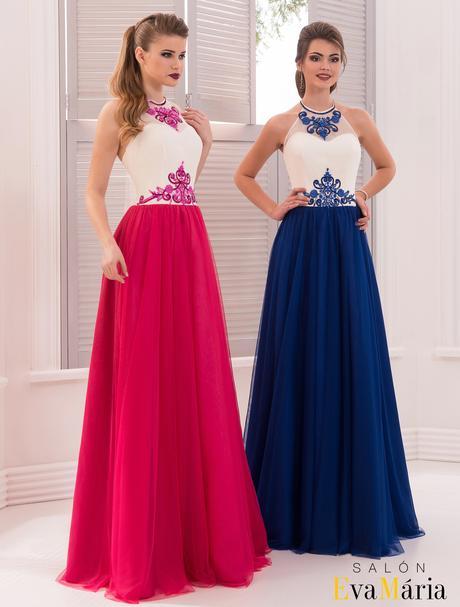 Kúzelné večerné šaty s aplikáciou okolo krku, 34