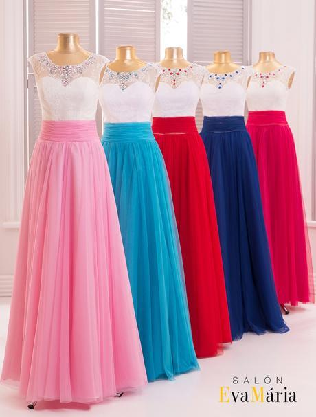 Kúzelné večerné šaty s padavou sukňou, 34