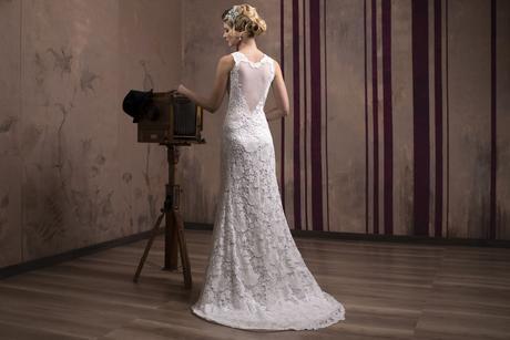 Luxusné čipkované svadobné šaty na predaj , 34