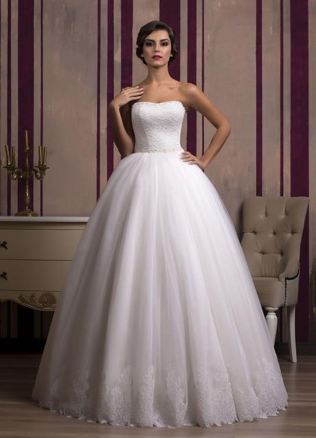 Luxusné princeznovské svadobné šaty na mieru, 34