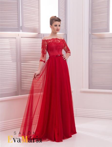 Luxusné spoločenské šaty s dlhými rukávmi, 38
