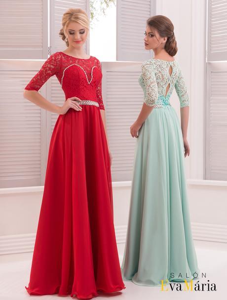 Luxusné spoločenské šaty s krásnou čipkou, 34