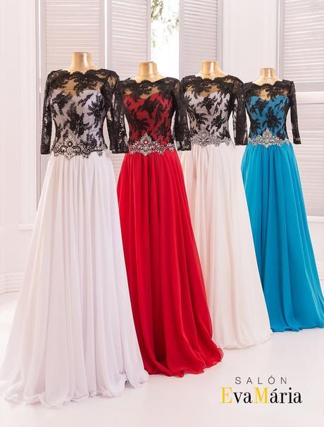 Luxusné večerné šaty s čipkovanými rukávmi, 34
