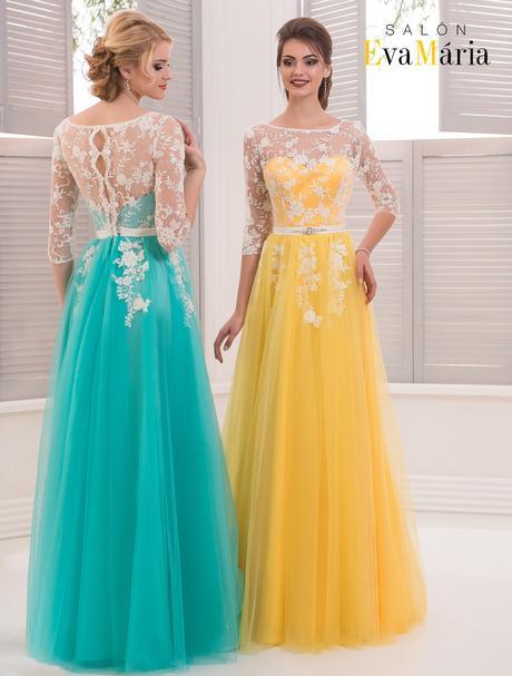 Luxusné večerné šaty s nádhernou čipkou, 36