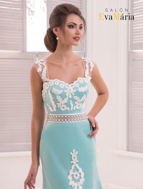 Nádherné luxusné spoločenské šaty na predaj, 34