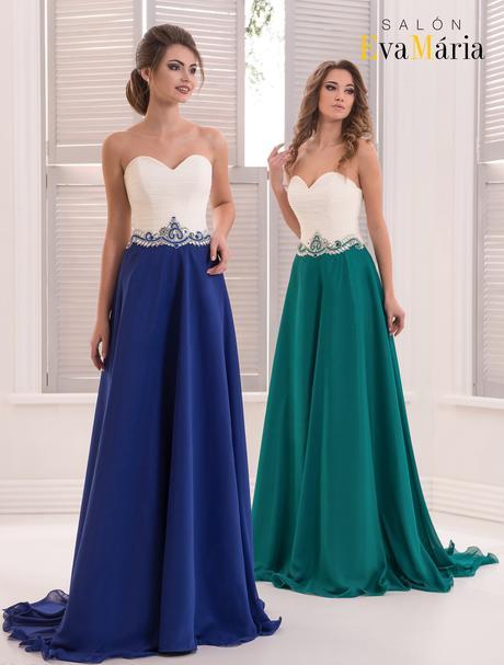 Nádherné večerné šaty s kamienkovým opaskom, 34