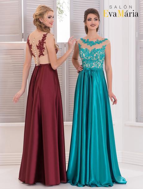 Nádherné večerné šaty s vyšívaným živôtikom, 38