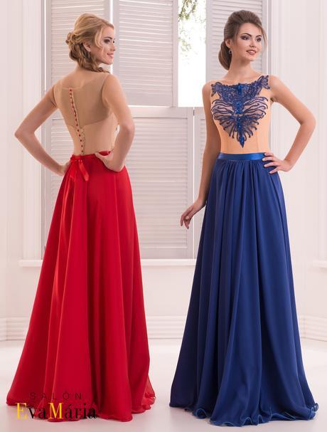 Nádherné večerné šaty vyšité kamienkami, 36