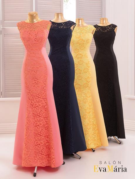 Ohromujúce večerné šaty s krásnou čipkou, 34