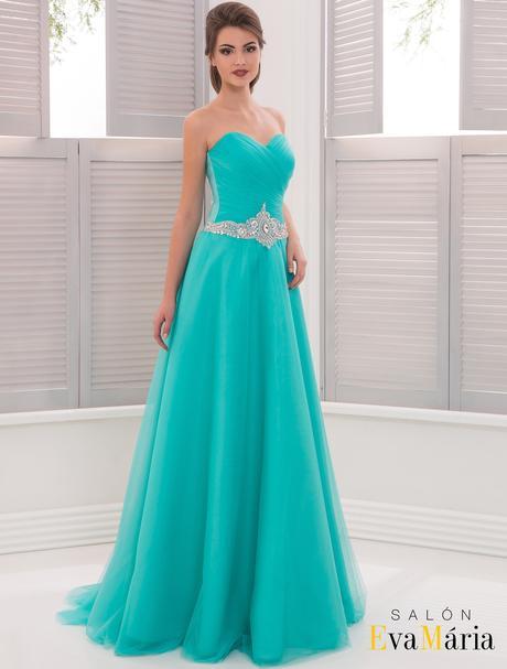 Okúzľujúce večerné šaty s kamienkovým opaskom, 36