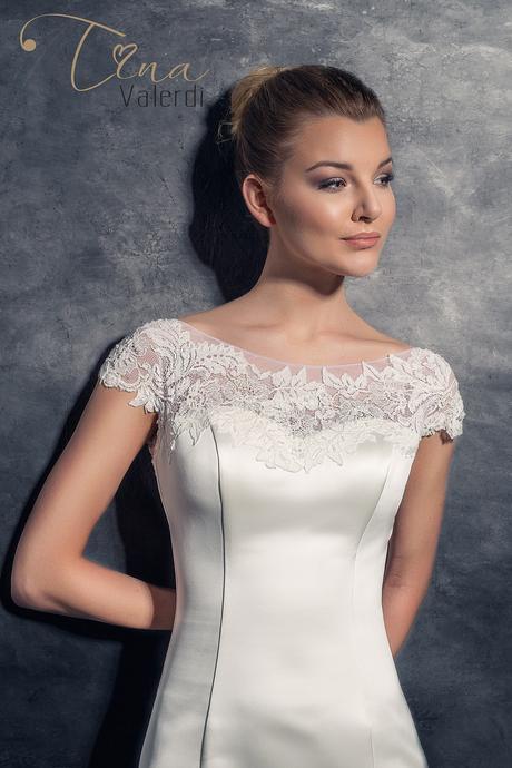 Pôvabné svadobné šaty šitie na mieru, 34
