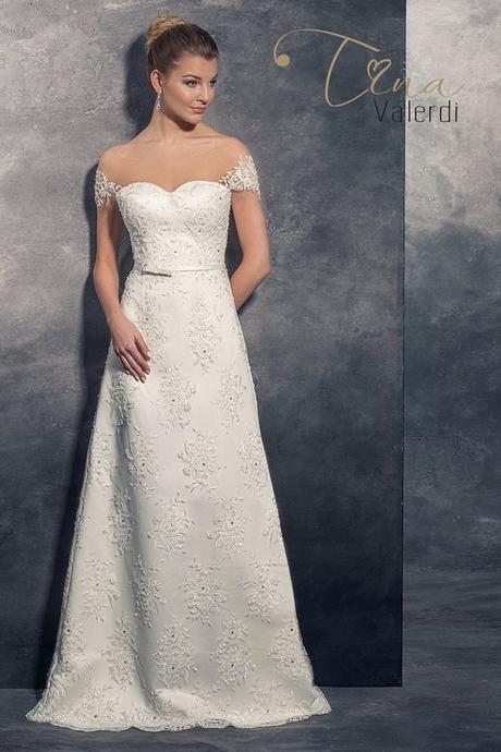 Predaj dlhých luxusných svadobných šiat, 40
