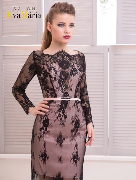 Prekrásne celočipkované večerné šaty, 36