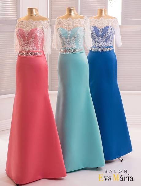 Prekrásne dlhé večerné šaty s čipkovaným živôtikom, 34