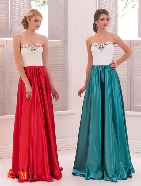 Prekrásne luxusné spoločenské šaty, 36