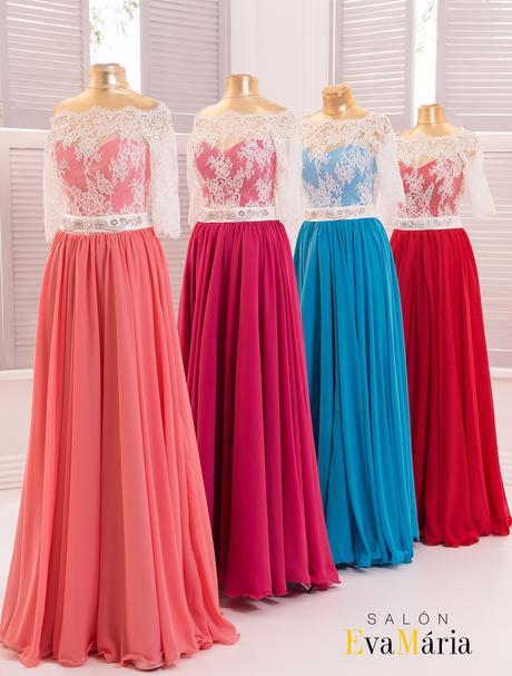 Prekrásne spoločenské šaty s čipkovanými rukávmi, 34