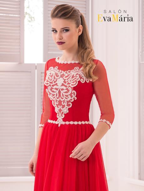 Prekrásne spoločenské šaty s priesvitnými rukávmi, 34