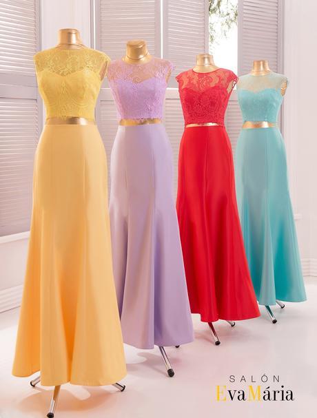 Prekrásne spoločenské šaty so saténovou sukňou, 34