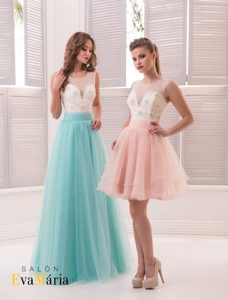 Prekrásne spoločenské šaty zo záujímavou sukňou, 34