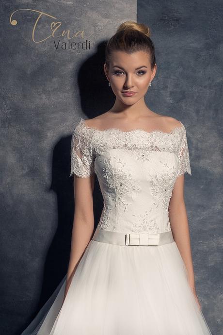 Prekrásne svadobné šaty šitie na mieru, 36