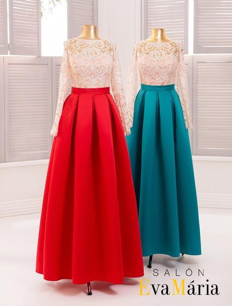Prekrásne večerné šaty s čipkovanými rukávmi, 34