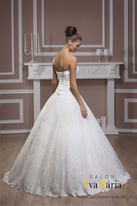 Princeznovské svadobné šaty - na mieru - real foto, 36