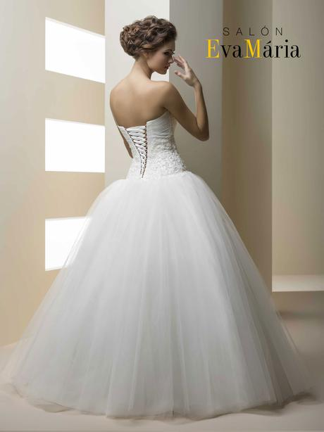 Princeznovské značkové svadobné šaty na mieru , 38