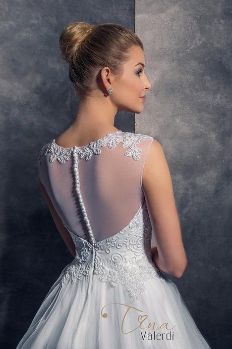 Romantické svadobné šaty šité na mieru, 42