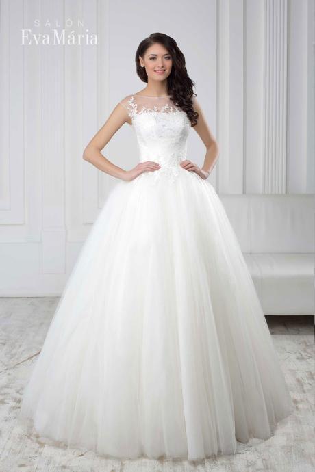 Šaty s tylovou sukňou - real foto - na mieru , 36