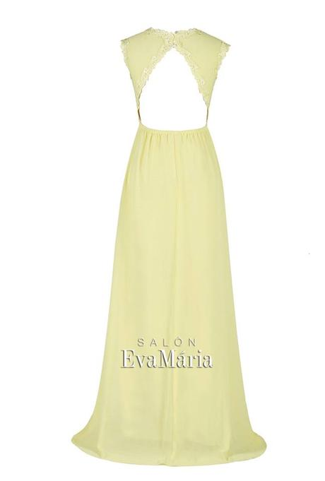 Spoločenské šaty s čipkovanými ramienkami, 36